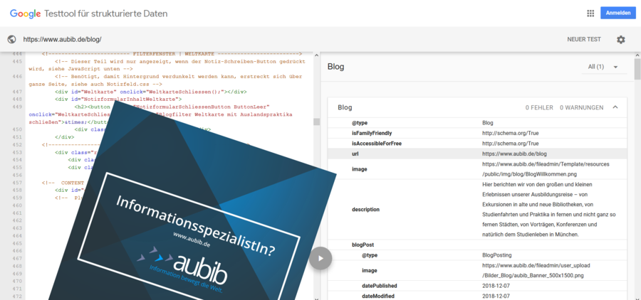aubib.de goes semantic!