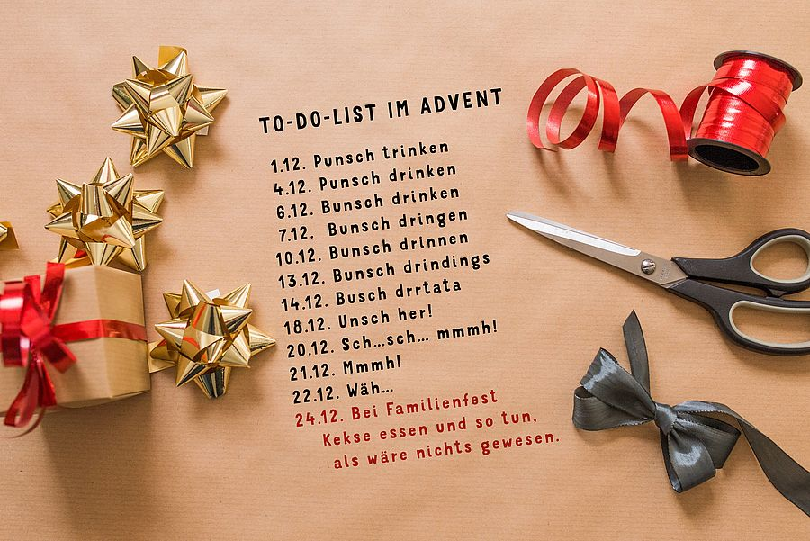 To-Do-List im Advent
